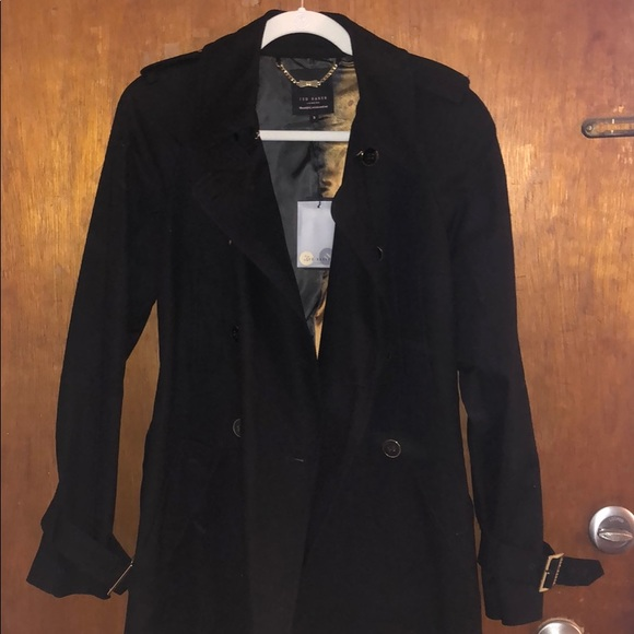 Ted Baker London Jackets & Blazers - New w/ tags black Ted Baker trench coat